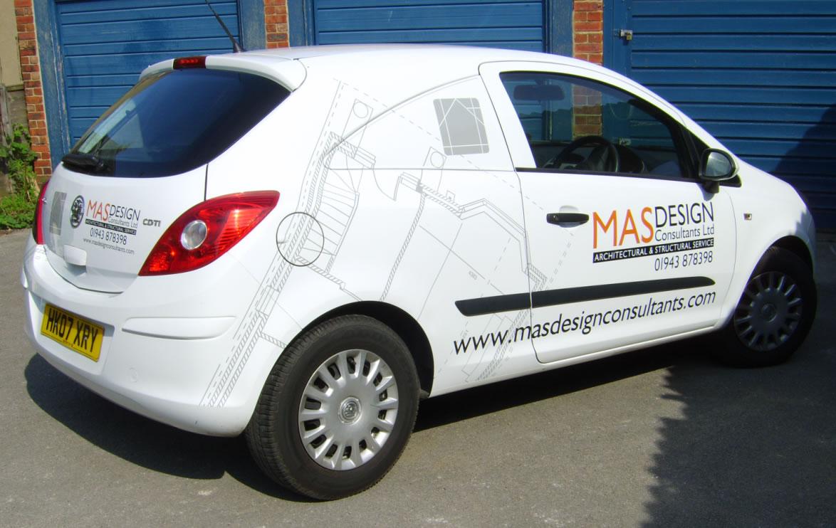 MAS Design car artwork