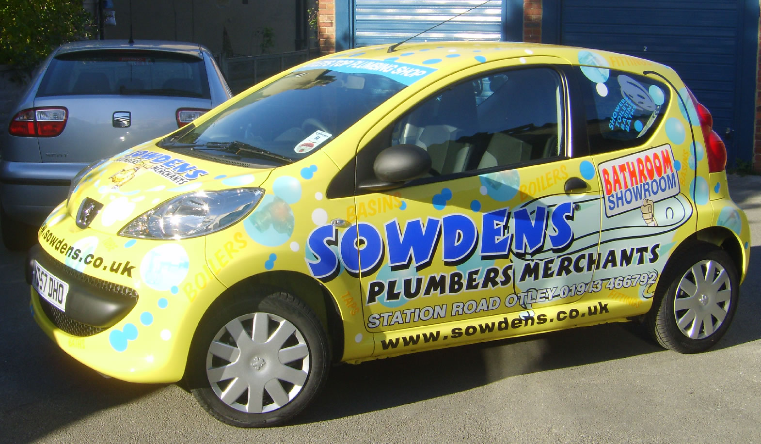 Sowdens car artwork